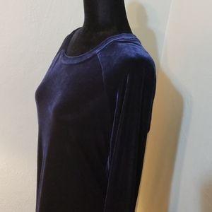 Moda International velvet dress